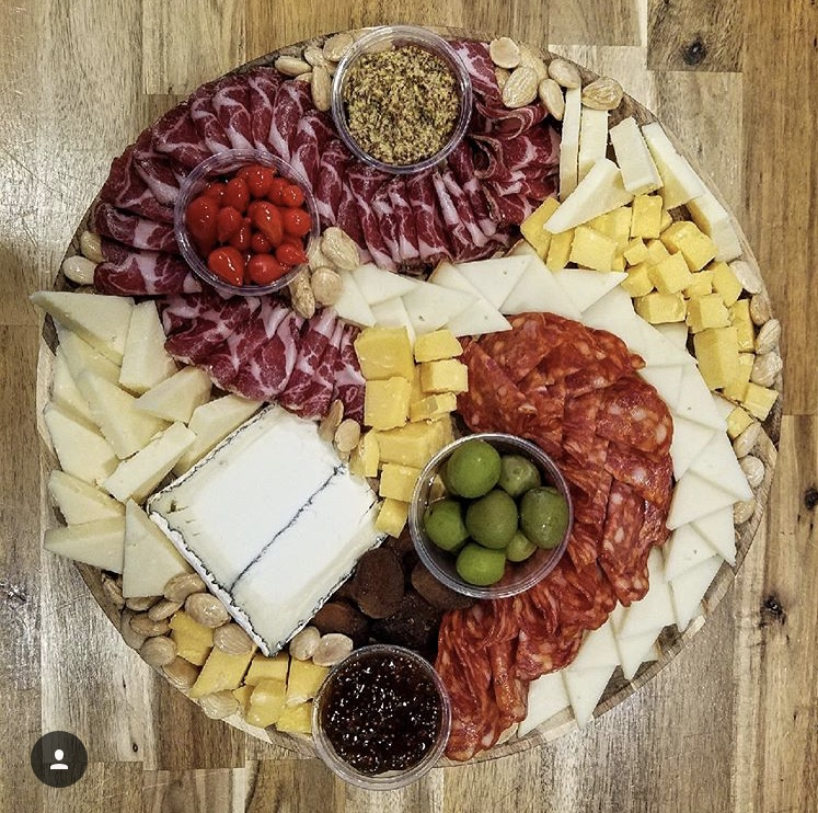 large cheese & charcuterie